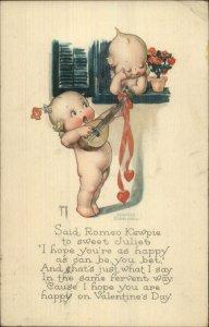 Rose O'Neill Kewpies Romeo & Juliet Valentine c1915 Postcard