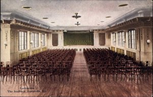 LOUISVILLE KY The Seelbach Auditorium c1910 Postcard