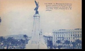 France Nice Le Monument du Centenaire premiere annexion de Nice a la France