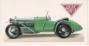 Trade Card Brooke Bond History of the Motor Car No 31