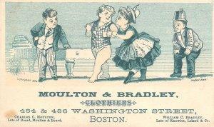 Boston~Victorian TC~Moulton & Bradley Clothier~Beard-Bouvé, Knowles-Leland 1890