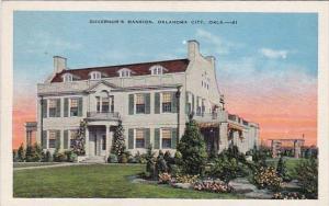 Oklahoma City Governor's Mansion 1939