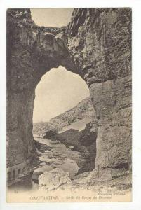 Constantine, Algeria, Sortie des Gorges du Rhummel, PU-1904
