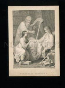 165142 Goethe WILHELM MEISTER w/ HARP by MUTTENTHALER Vintage