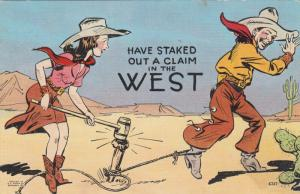 Comic:  10-30s; Have Staked Out a Claim in the West