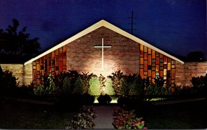 Ohio Bowling Green St Thomas Moore Student Chapel Night View Bowling Green St...