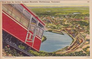 Tennessee Chattanooga View From The Incline Lookout Mountain