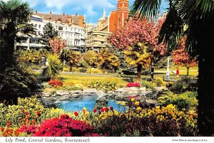 Lily Pond, Central Gardens Bournemouth Ireland Postal Used Unknown