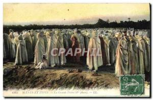 Old Postcard Scenes And Types The Great Prayer