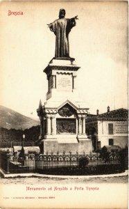 CPA Brescia Monumento ad Arnaldo a Porta Venezia . ITALY (541544)