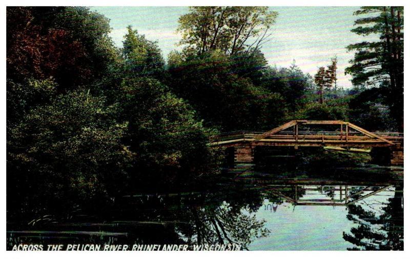 Wisconsin  Rhinelander , Pelican River