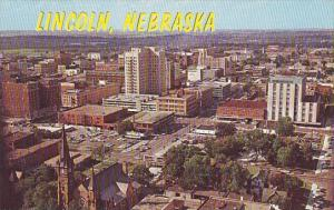 Nebraska Lincoln View From Top Of State Capitol