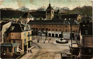 CPA  Chambéry - Place du Centenaire  (653415)