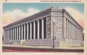 Pennsylvania Pittsburgh The New Building Mellon Institute 1937 Curteich