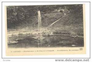 Blanchefontaine, Le Jet D'eau De La Grenouille, Langres, France, 00-10s