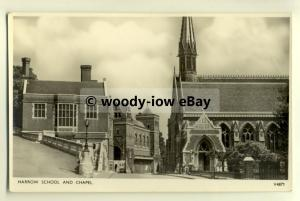 tp8095 - Berks - View of Harrow School and Chapel in the 40/50s - Postcard