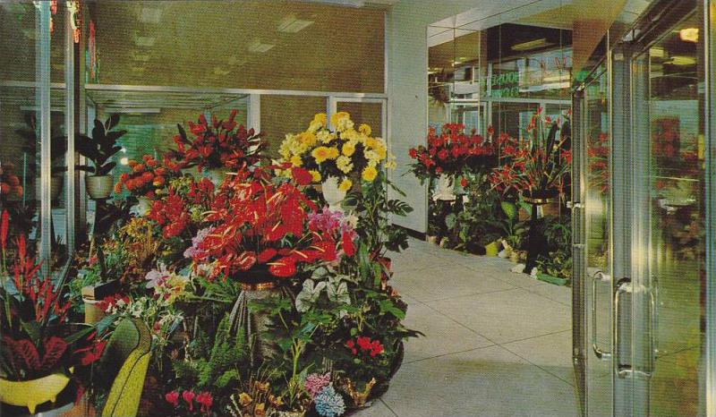 Aloha House of Flowers , VANCOUVER , B.C. , Canada , 40-60s