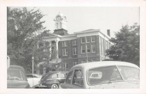 LPSS21 Holly Springs Mississippi Marshall County Court House Postcard RPPC