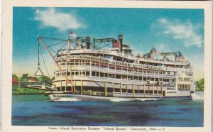 Ohio Cincinnati Coney Island Excursion Steamer Island Queen sk5109