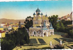 France Nice L'Eglise Russe