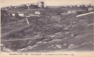 SALONIQUE, Les Remparts et lea Ville Haute, Greece, 00-10s