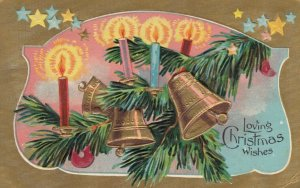 CHRISTMAS, 1910 ; Bells & Candles