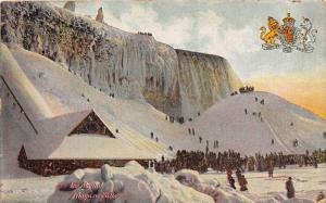 11767  NY  Niagra Falls 1908  Frozen Falls, Ice Mound