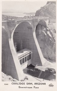 RP; COOLIDGE DAM, Arizona, 30-40s ; Downstream Face