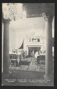 Trellis Room Studio Inn Painesville OH Unused c1920s