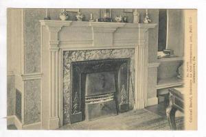 Colonial Mantel, Residence No. 6504, Germantown Ave, Built 1778, Germantown, ...