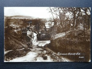 Shropshire Ludlow ENTRANCE TO WHITCLIFF HILL c1912 RP Postcard by W.H.S.& S.