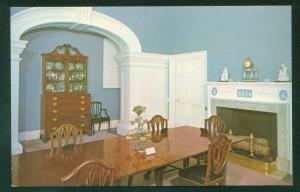 Monticello Dining Room President Thomas Jefferson Charlottesville Virginia VA
