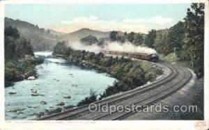 The Berkshine Hills Train Trains Locomotive, Steam Engine,  Postcard Postcard...