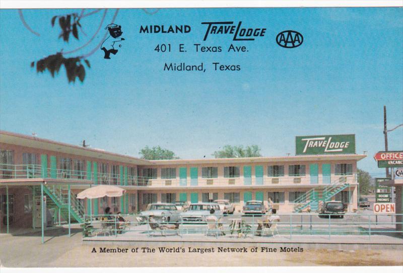 Swimming Pool Midland Travelodge Midland Texas 40 60 Hippostcard
