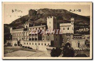 Old Postcard Monaco Palace Prince