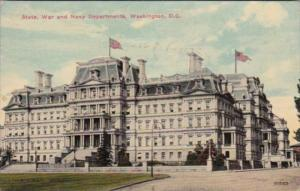 Washington D C State War and Navy Departments 1911