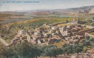 Bethany Old Aerial Bethlehem Antique Postcard