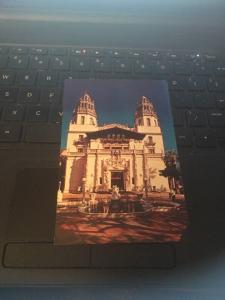 Vtg Postcard: La Casa Grande, Hearst San Simeon State Historical Monument