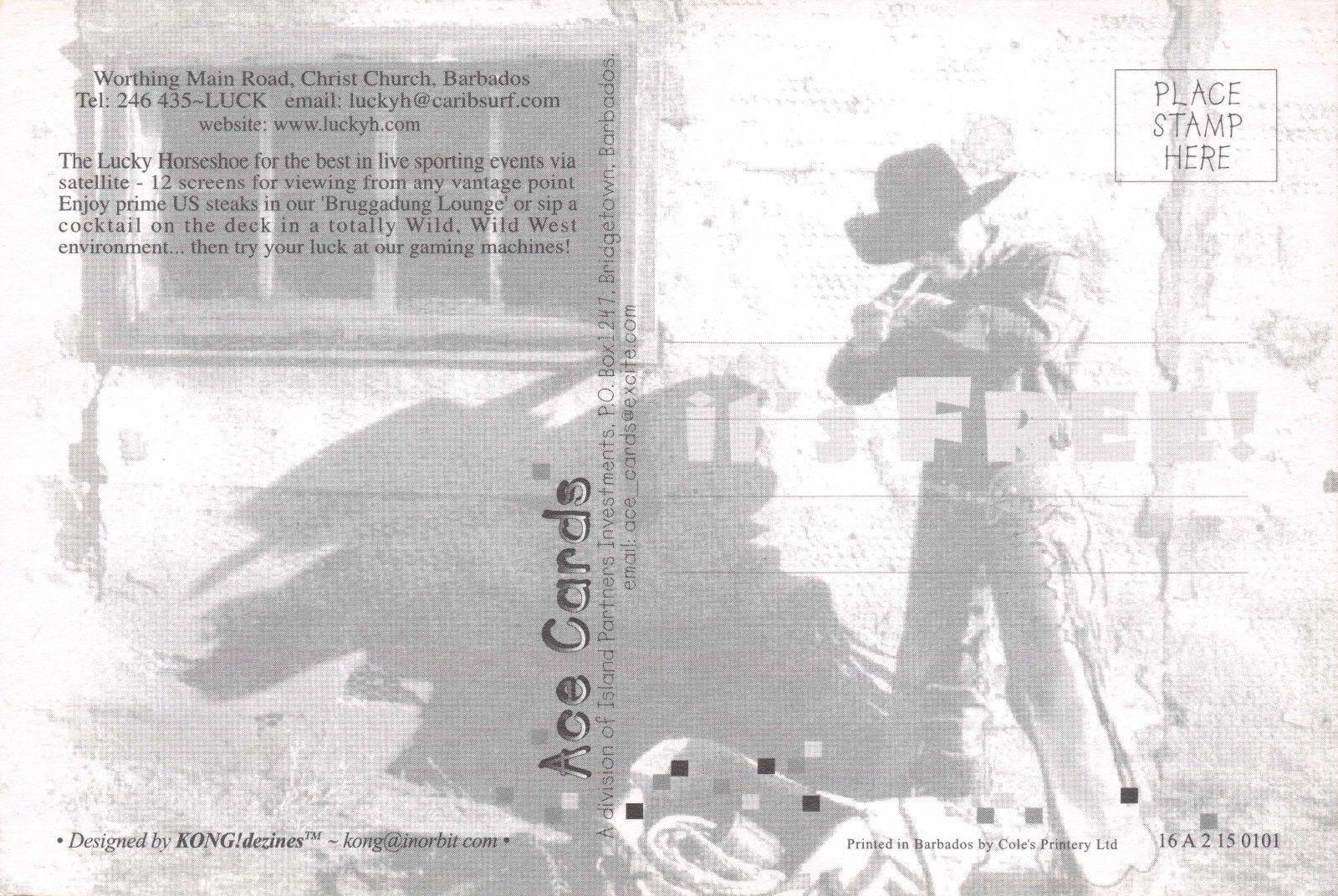 1886 A TEXAS Cowboy by Charles A Siringo IJ0 Art Postcard