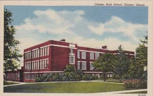 Illinois Chester High School Curteich