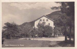 Hotel Otztalerhof Much Heiss Nachf Austria Old Postcard