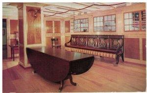 Postcard - Peabody Museum of Salem Cleopatra's Barge Cabin Saloon, Massachusetts