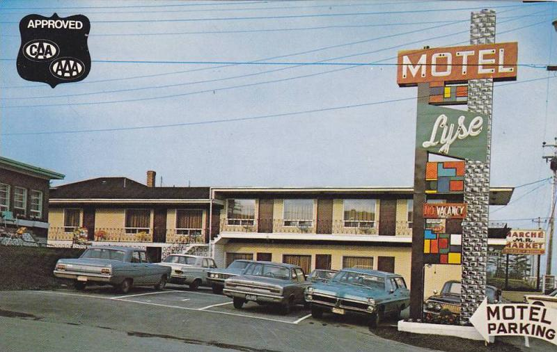Motel Lyse Inc., Rimouski, Province of Quebec, Canada, 40-60s