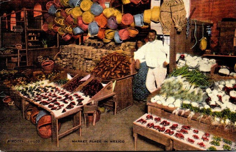 Mexico Laredo Typical Market Place
