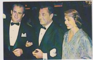 Cyd Charisse and Husband Tony Martin Arrive at a Hollywood Premiere