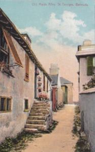 Bermuda St Georges Old Maids Alley