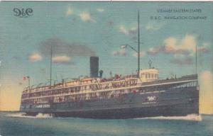 Steamer Eastern States D & C Navigation Company 1948
