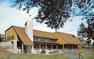 Tacoma Washington~Pacific Lutheran University Center~Lounge~Bookstore~1960s PC