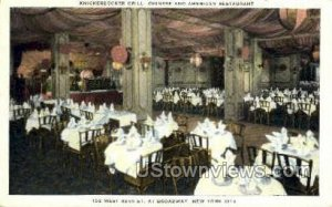 Knickerbocker Grill - New York City, New York