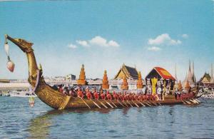 The Royal Barge Sir Suparnahongse, Bangkok, Thailand, 40-60´s